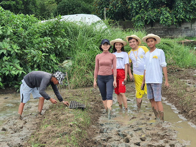 Kalipayan Farm Agritayo Experiential Tour and Workshop Bajet Castillo High School